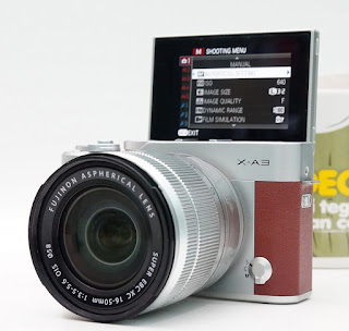 Jual Fujifilm X-A3 Bekas