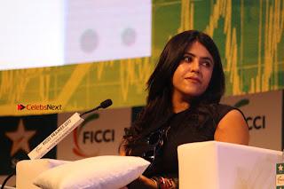 Ekta Kapoor Anurag Kashyap & Ramesh SippyAt at FICCI FRAMES 2017  0113.JPG