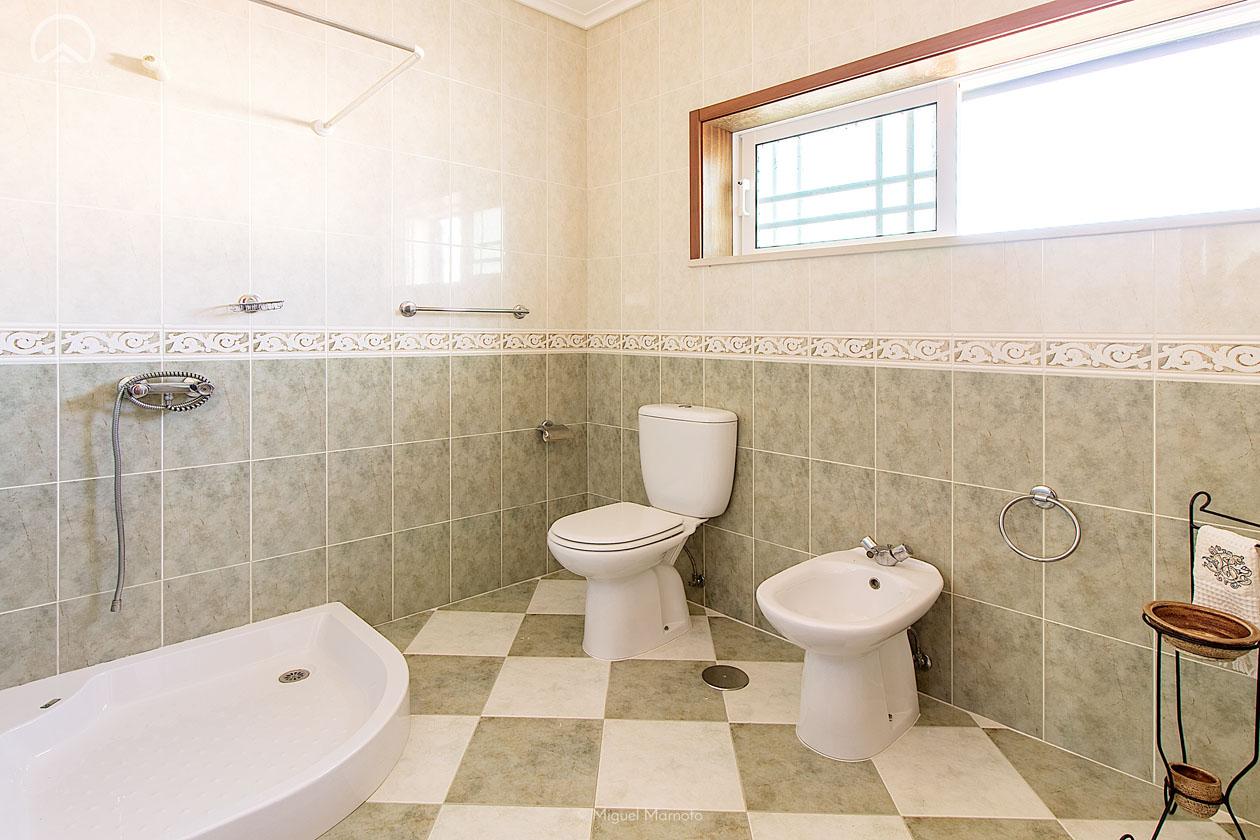 casa banho verde