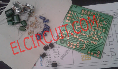 Parts Active Subwoofer Circuit