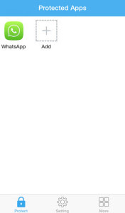 secure whatsapp in iphone