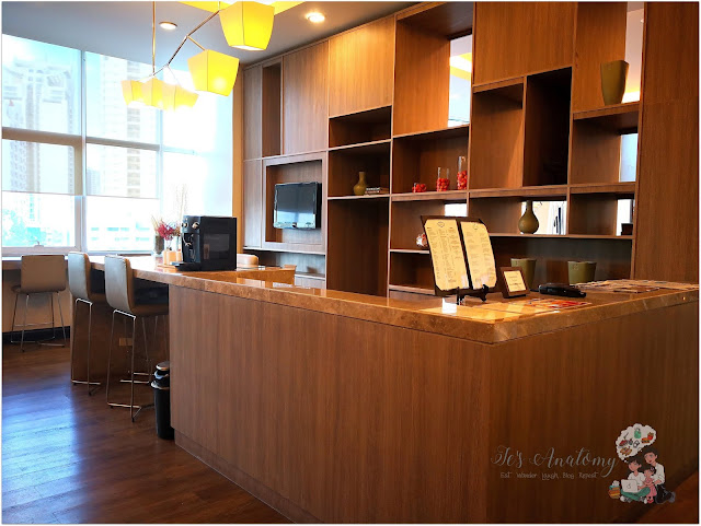 Somerset Millenium Makati Guest Lounge
