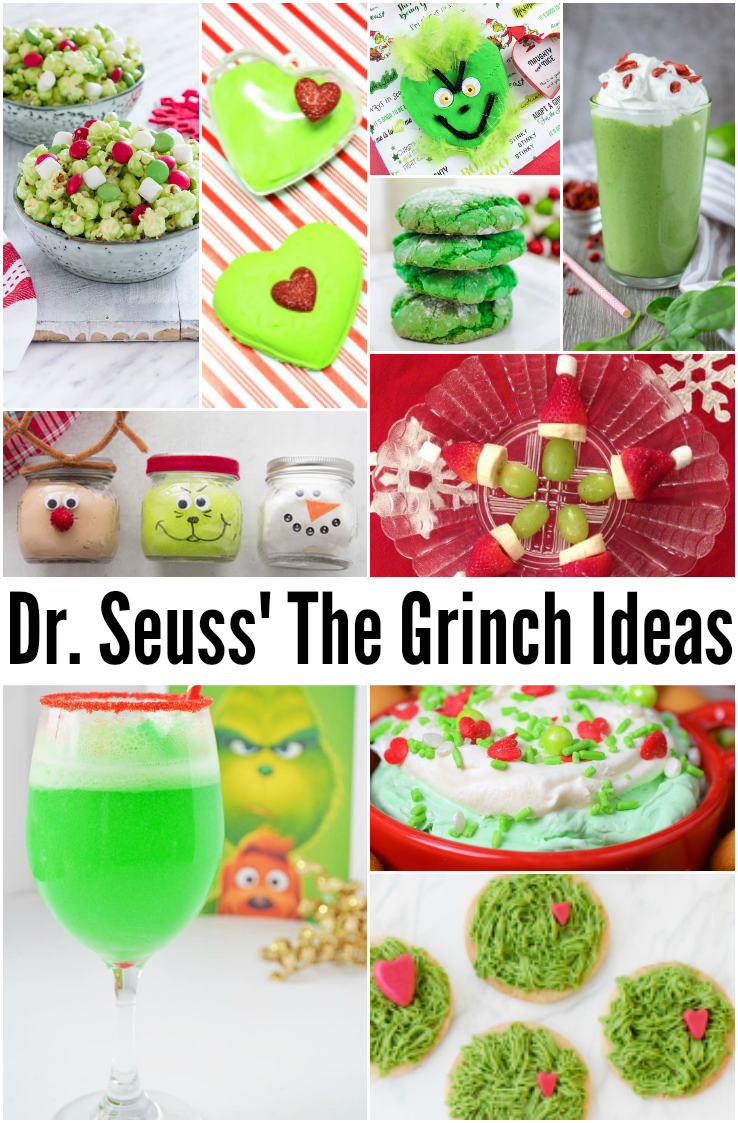 Dr. Seuss The Grinch recipes, crafts, and more