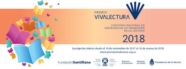 Abren las inscripciones para participar del Premio VIVALECTURA 2018