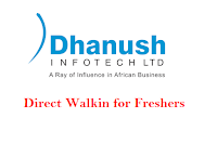 Dhanush-InfTech-walkin-for-freshers