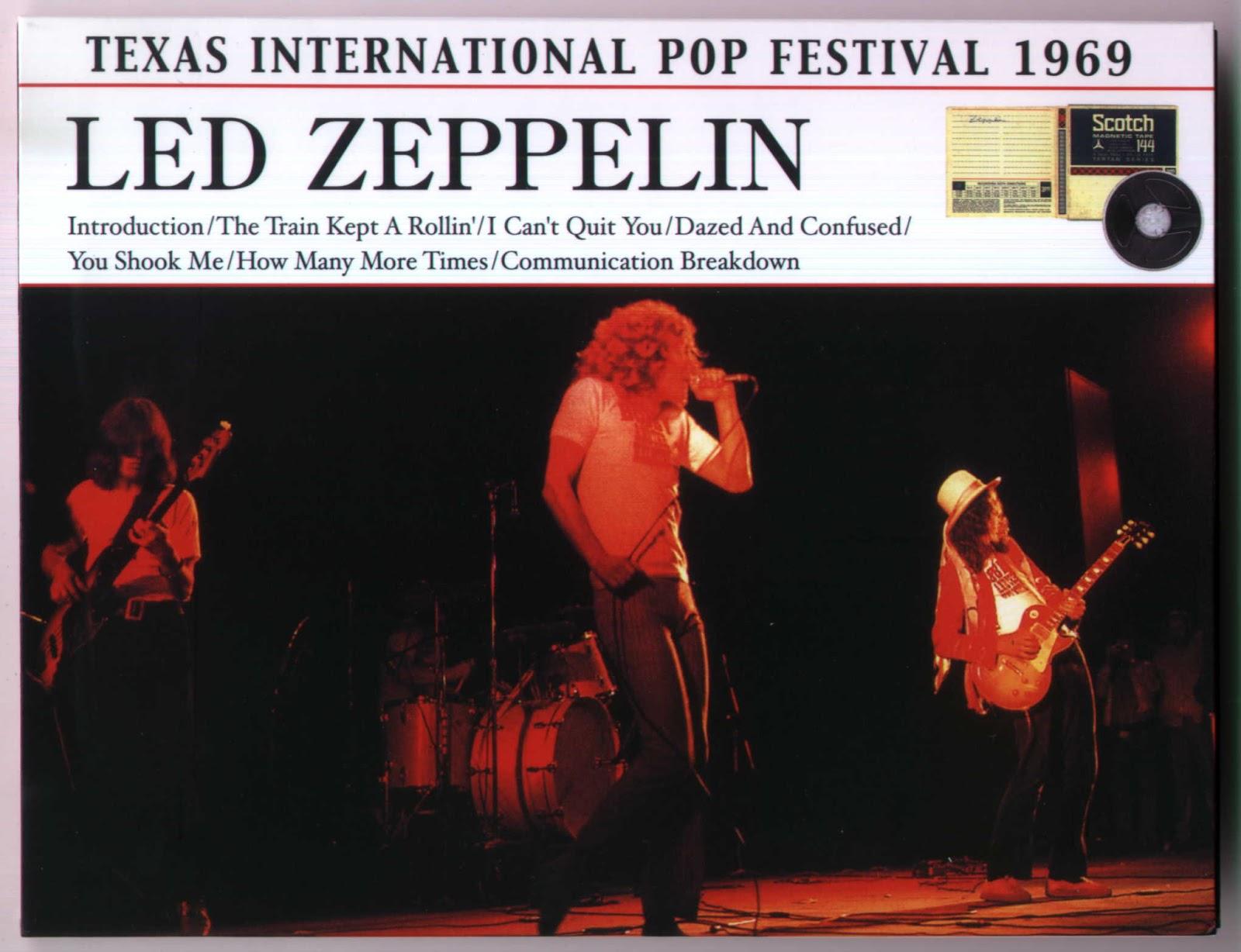 PLUMDUSTY'S PAGE: Led Zeppelin 1969-08-31 Texas ...