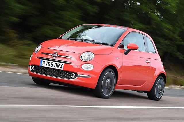 5. Fiat 500 discount car