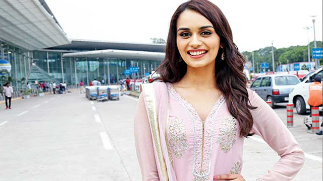 Miss World 2017 Manushi Chillar beautiful.