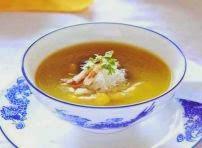 Cách làm món súp bí-Tổ yến