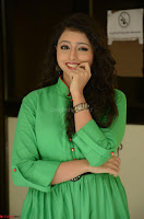 Geethanjali in Green Dress at Mixture Potlam Movie Pressmeet March 2017 070.JPG
