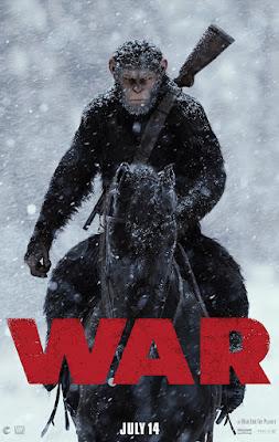 Póster de La Guerra del Planeta de los Simios'