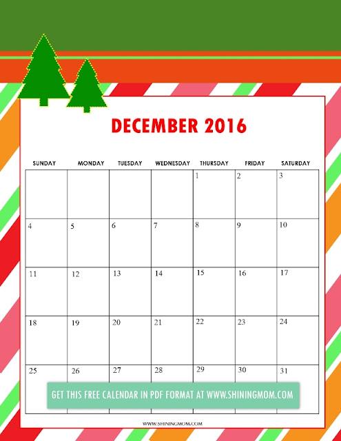 December 2016 Christmas Calendar