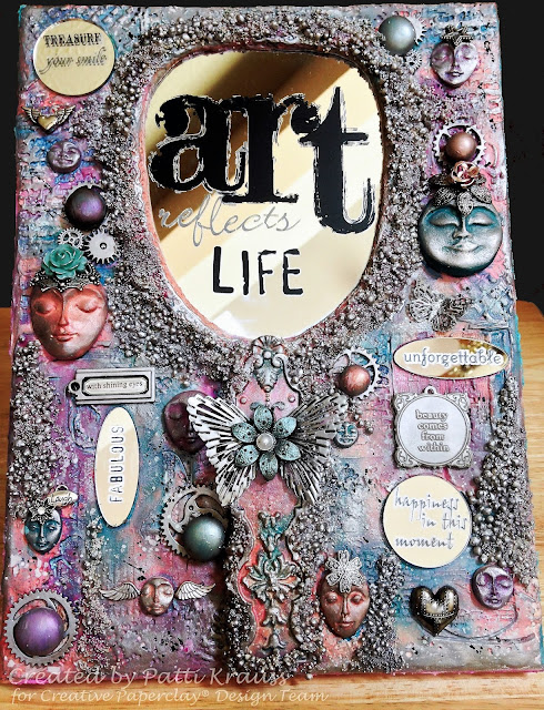 Creative Paperclay® Art Reflects Life