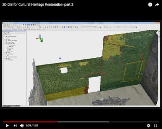 3D GIS for Cultural Heritage Restoration- part 3