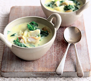 smoked haddock and kale soup recipe