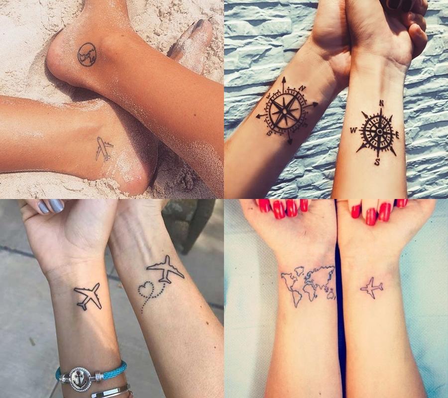 tatuagem viagem pinterest