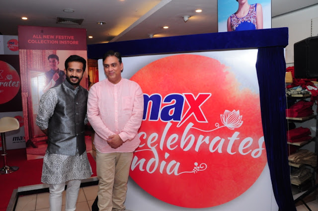 VJ RAVI LAUNCHES MAX'S FESTIVE COLLECTION IN HYDERABAD