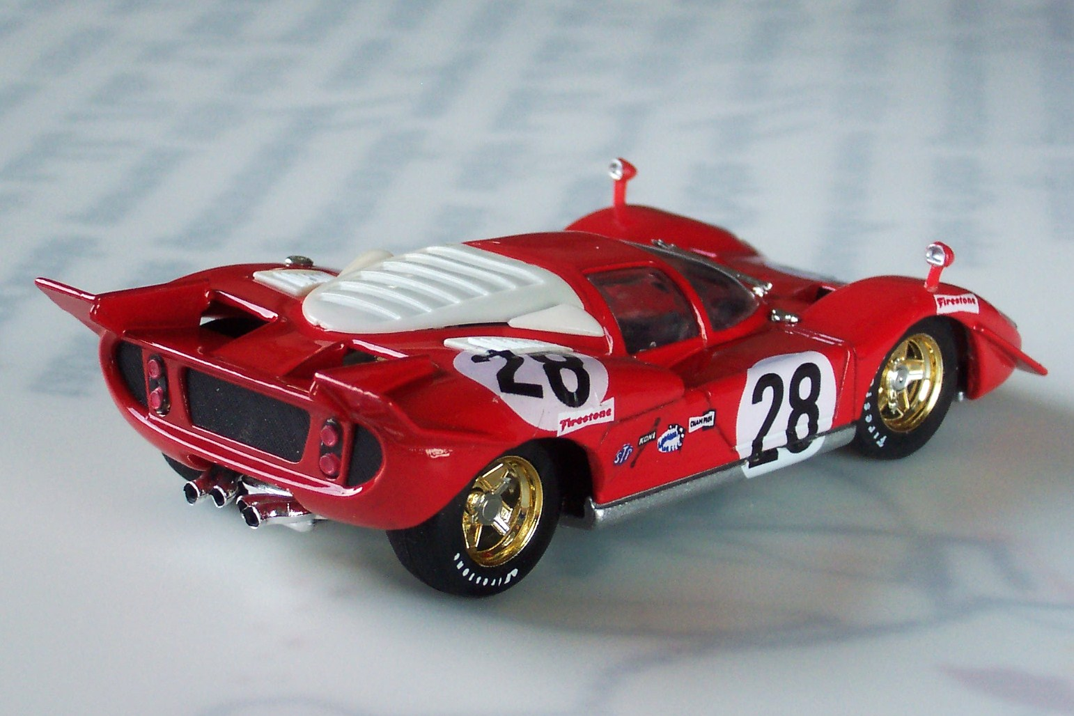 1 43 collection of transformed and restaured models ferrari 512s spyder canam made from a. Black Bedroom Furniture Sets. Home Design Ideas