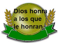 Dios honra a los que le honran