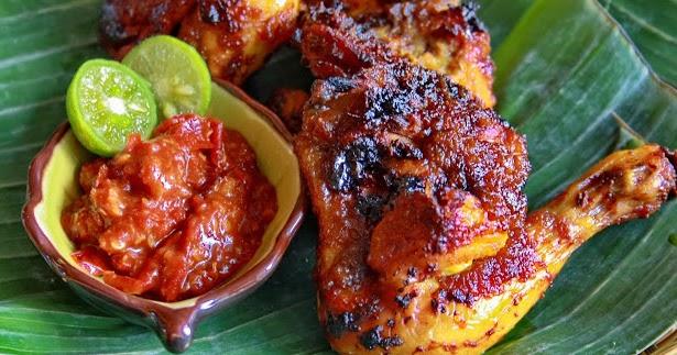 bumbu resep ayam bakar kecap spesial dan cara membuatnya