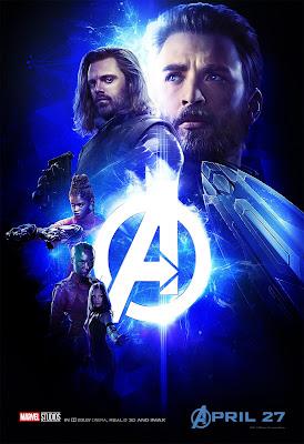 Marvel Avengers Infinity War poster Steve Rogers Bucky Barnes Shuri Nebula Mantis