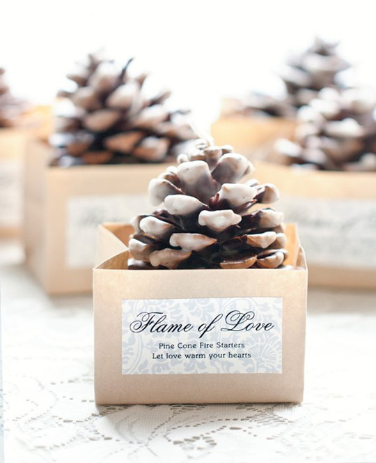 unique Handmade DIY Wedding Favor Inspiration