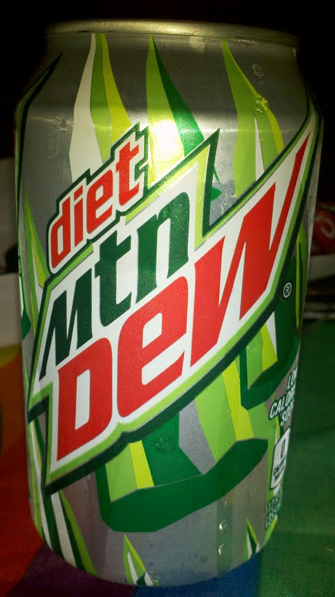 Mtn Dew Can History