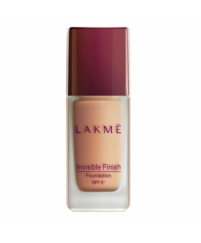 LAKME INVISIBLE FINISH FOUNDATION REVIEW    PEACHYPINKPRETTY