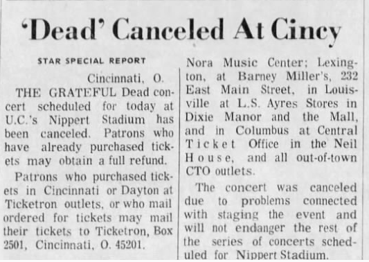 1973 Grateful Dead Truckin