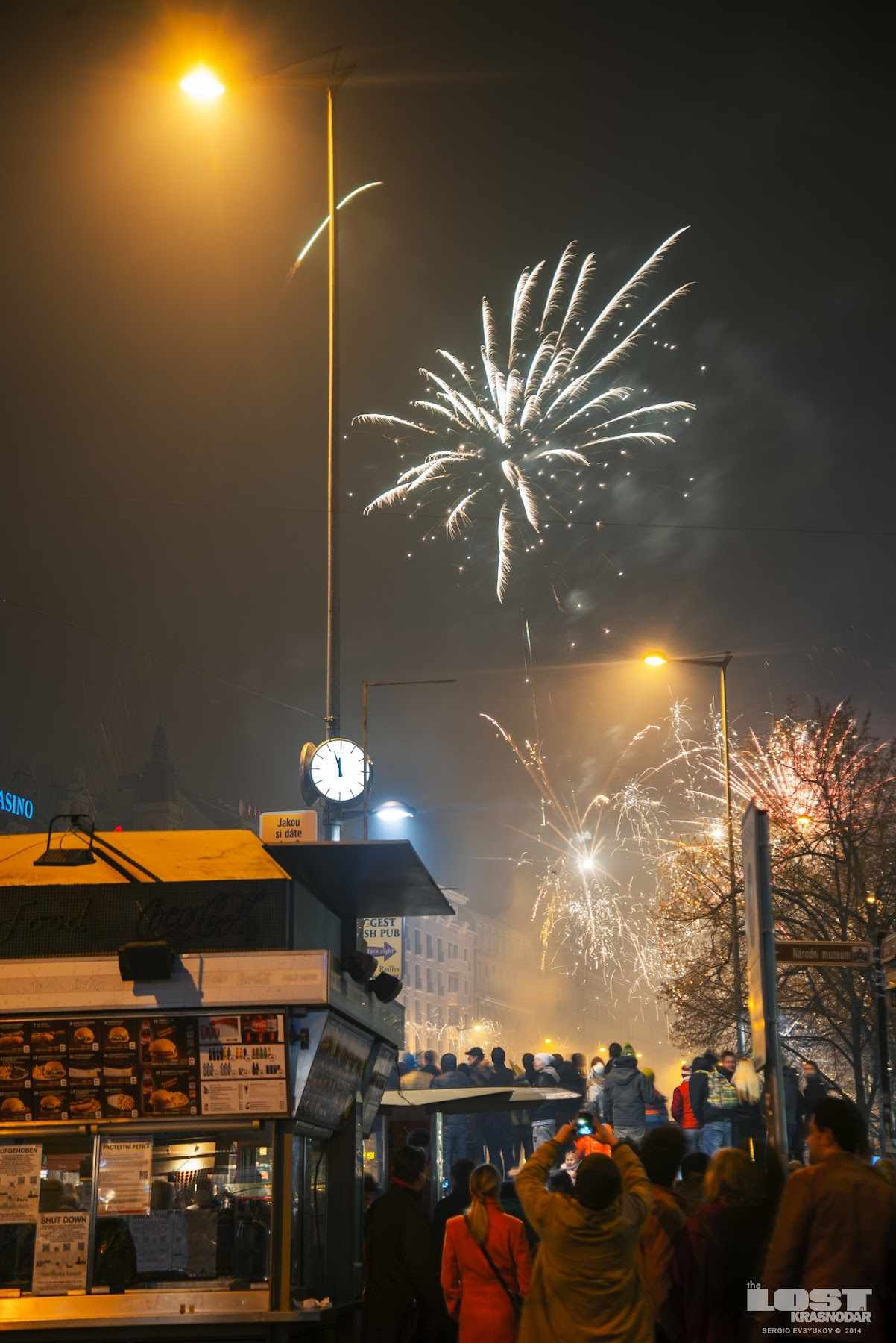 Meeting the New Year in Prague