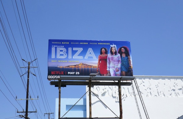 Ibiza film billboard