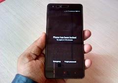 Cara Unlock Pattern Xiaomi Redmi Note 4, Redmi Note 4X Lupa Pola