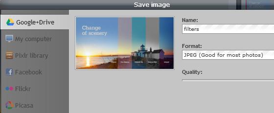edit foto melalui google drive online