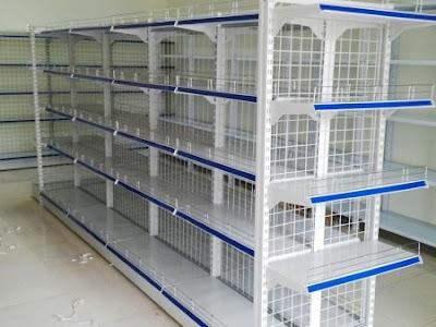 Cung cấp và lắp đặt giá kệ siêu thị tại Quảng Bình