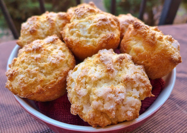 Dimples & Delights: Buttermilk Scone Muffins (Scuffins!)