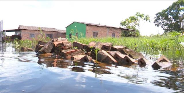 Cheia do Mamoré é reconhecida como situação de emergência pelo Governo Federal
