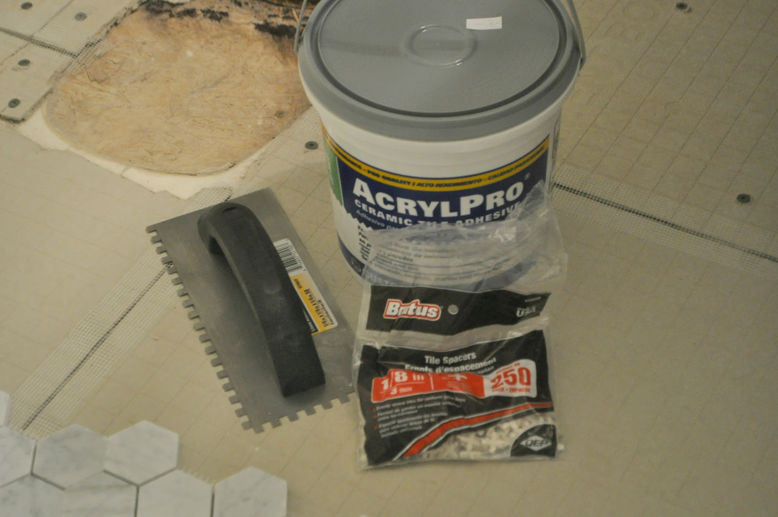 Guest Bathroom Update #3: How To Install Backer Board and