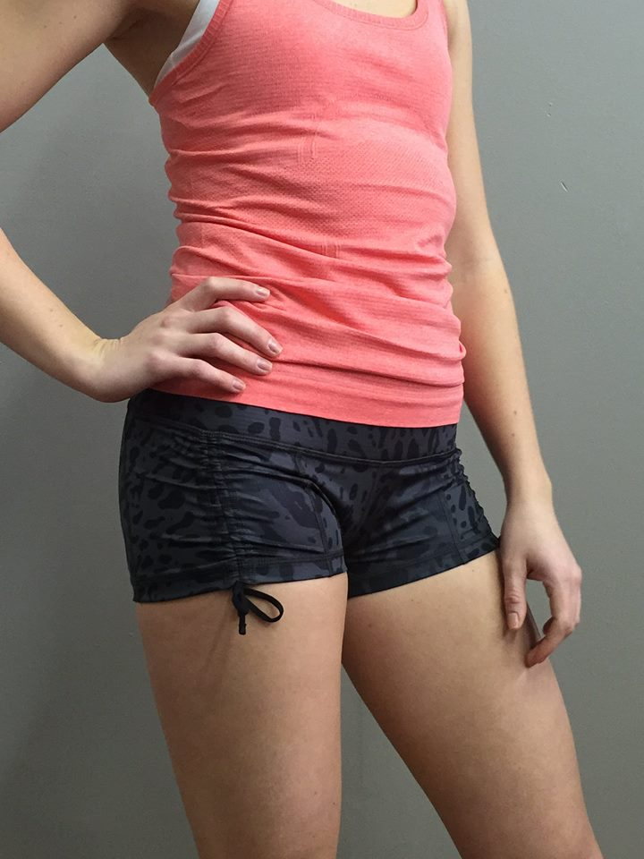 lululemon hot hot short