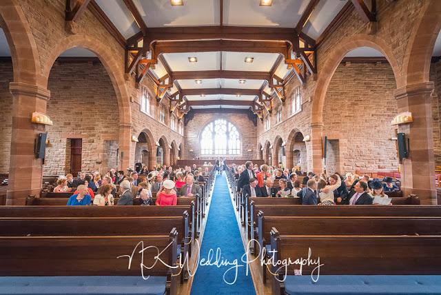 St Pauls Parish Church Milngavie Wedding Photography