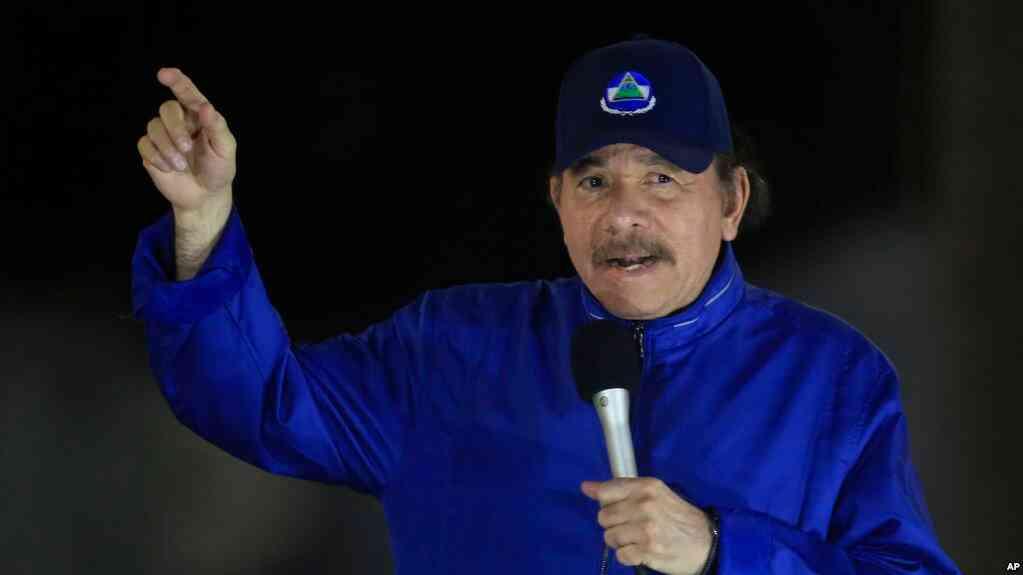 Ortega pdiió un pronunciamiento a la oposición para rechazar recientes sanciones de EEUU / AP