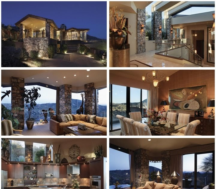Steven Seagal Scottsdale Arizona Mansion Celebrity Houses