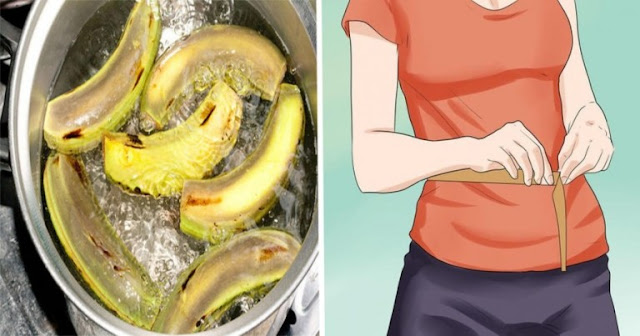 When You Find Out What Banana Peels Can Do To Your Waistline, You'll Stop Throwing Them Away!