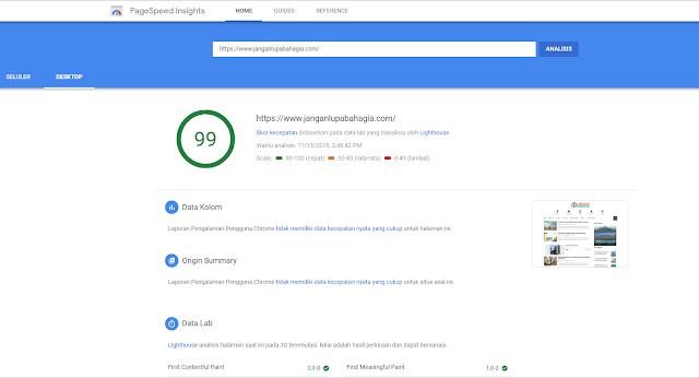 PageSpeed Insight Punya Tampilan dan Fitur Baru