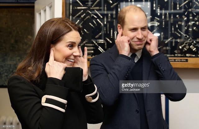 Kate i William w Birmingham