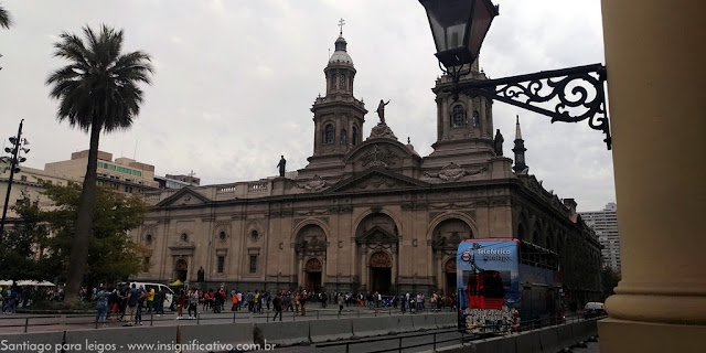 Chile - Santiago - Centro Histórico - Catedral