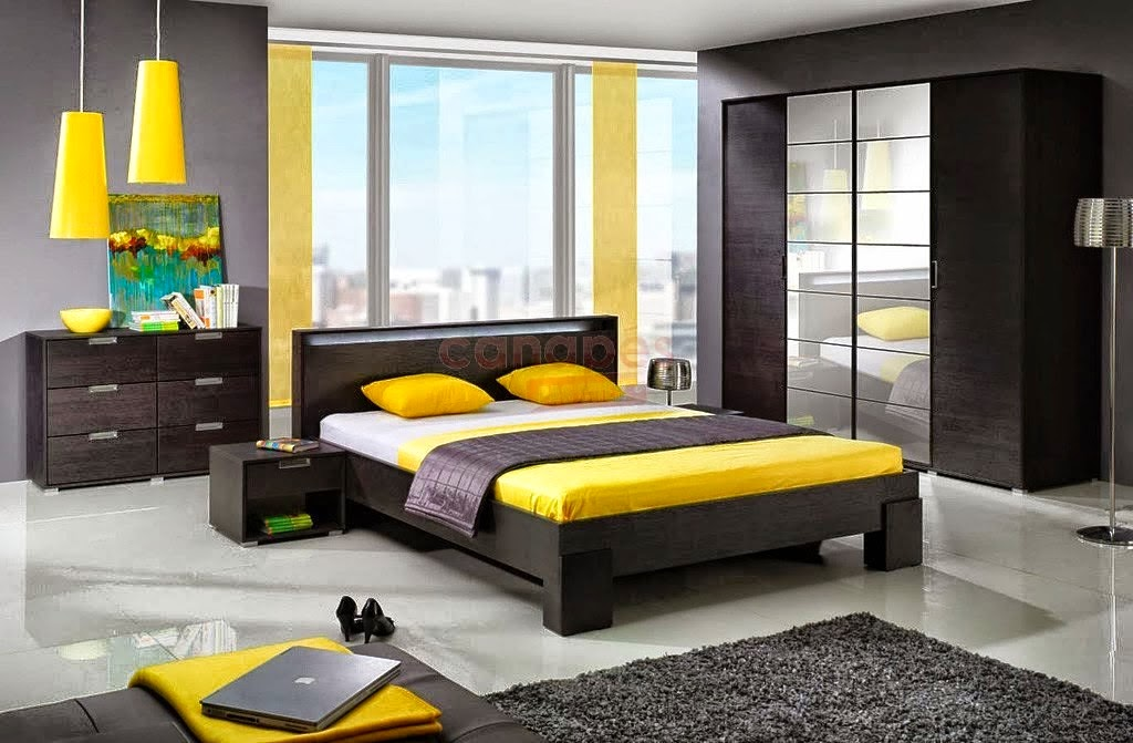 petite chambre moderne