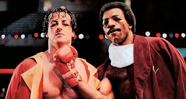 Rocky Balboa y Apollo Creed