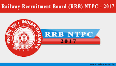 rrb ntpc recruitment 2017 - 2018