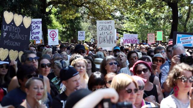 Australia inaugura la Marcha mundial de Mujeres anti-Trump