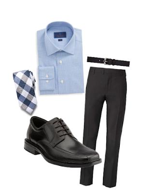 Bostonian Espresso Oxford Outfit